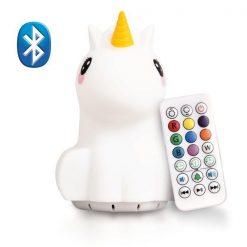 LumiPets Unicorn Nightlight with Bluetooth and Remote
