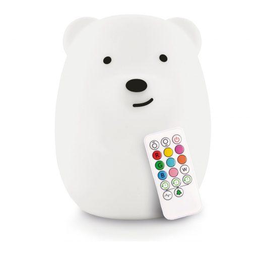 LumiPets Bear Nightlight with Remote