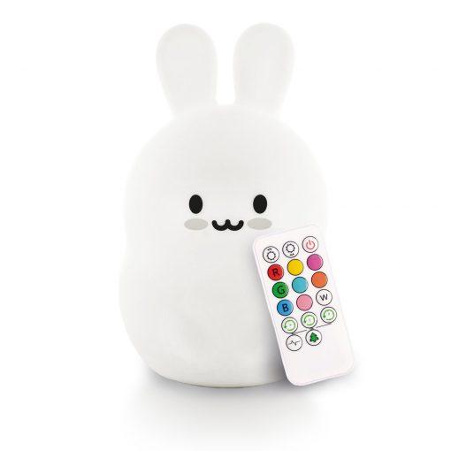 LumiPets Bunny Nightlight with Remote
