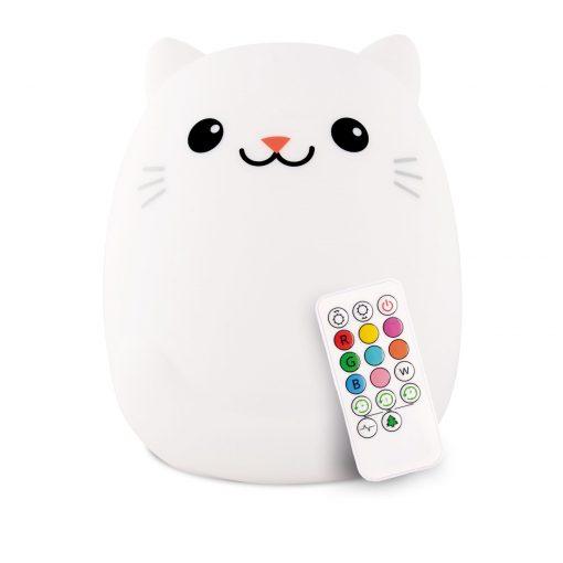 LumiPets Cat Nightlight with Remote