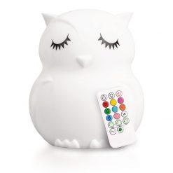 LumiPets Owl Nightlight with Remote
