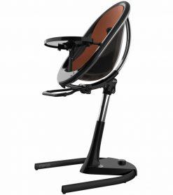Mima Moon 2G Black High Chair Black / Camel H103C-BL-CM