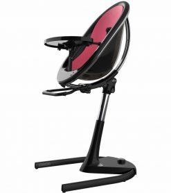 Mima Moon 2G Black High Chair Black / Fuchsia H103C-BL-FC