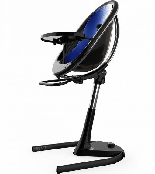 Mima Moon 2G Black High Chair Black / Royal Blue H103C-BL-RB