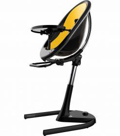 Mima Moon 2G Black High Chair Black / Yellow H103C-BL-YL