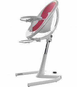 Mima Moon 2G White High Chair White / Fuchsia H103C-CL-FC