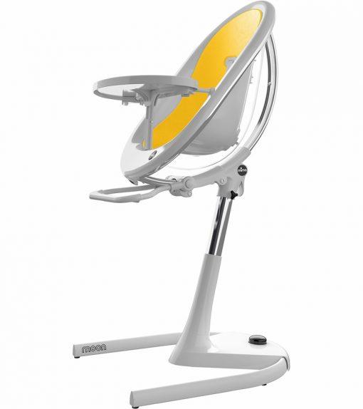 Mima Moon 2G White High Chair White / Yellow H103C-CL-YL
