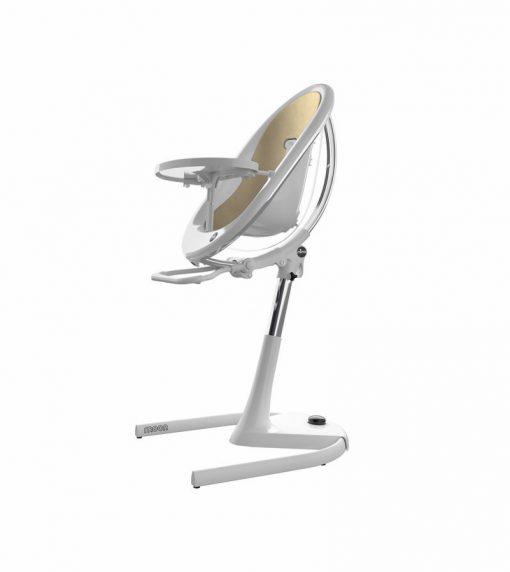 Mima Moon 2G White High Chair White / Champagne H103C-CL-CP