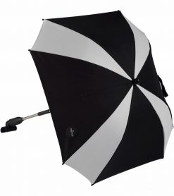 Mima Parasol for Stroller Black & White S1101-08BW2