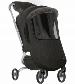 Mima ZIGI Matching Winter Outfit Charcoal S3201-23