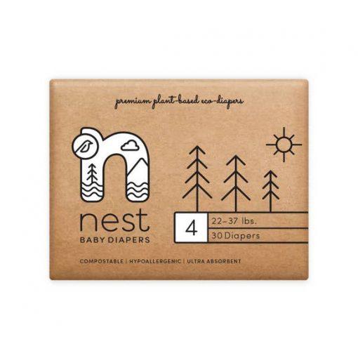 Nest Compostable Diaper Size 4