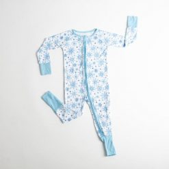 Snowflakes Bamboo Sleeper Little Sleepies Winter