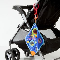 Whoozit Space Blankie easy attach to strollers
