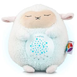 LumieWorld Sound and Light Soother Plush Lamb