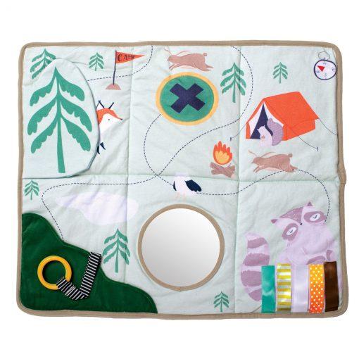 Tactical sensory play mat for babies