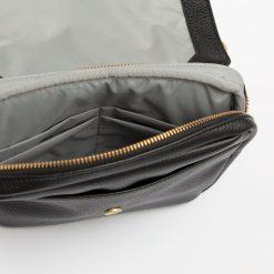 Black Diaper Fanny Pack Bag