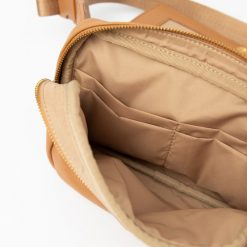 Leather Diaper Fanny Pack