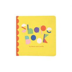 Bright baby board book with Shapes by Manhattan Toys