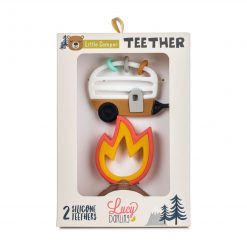 Lucy Darling Little Camper Teether Toy Packaging
