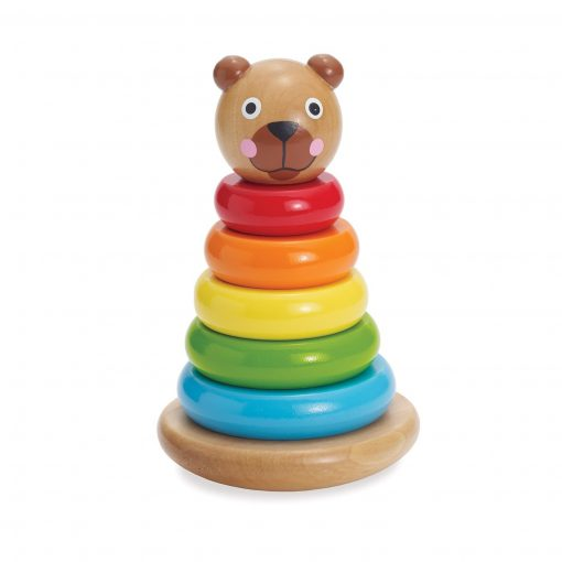 Brilliant Bear Magnetic Stack-up by Manhattan Toy Company
