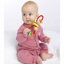 Rattle teething loop for babies