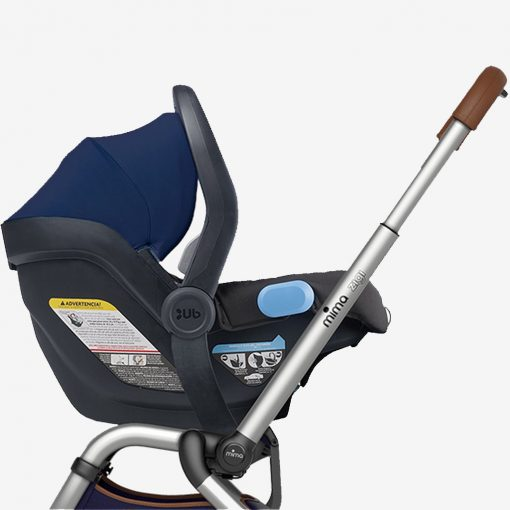 Mima Zigi Stroller with UPPAbaby Mesa car seat using Zigi Car Seat Adaptor