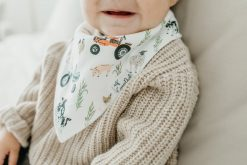 Farmer Bandana Bibs Jo Set by Copper Pearl
