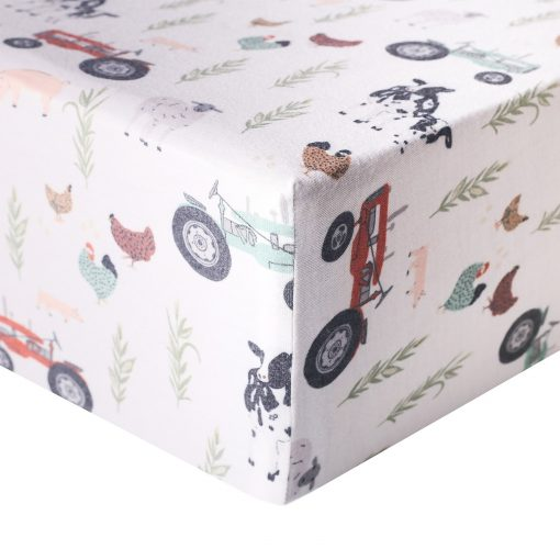 Copper Pearl Premium Crib Sheet Standard Baby Mattress Crib Sheet in Jo by Copper Pearl