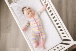 Little Sleepies Sunrise Stripe Bamboo Viscose Zippy