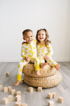 Little Sleepies Sunshine Zippy and Pajama Set