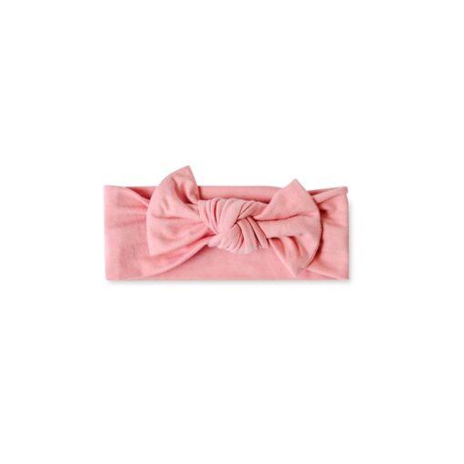 Little Sleepies Bamboo Bubblegum Pink Baby Headband