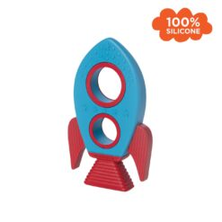 Rocket Silicone Teether