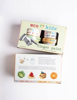 eco-kids Finger Paint with 4 Colors