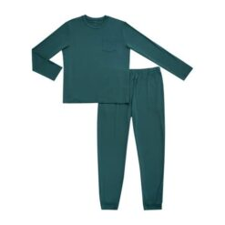 Kyte BABY Men's Bamboo Jogger Lounge Set in Emerald