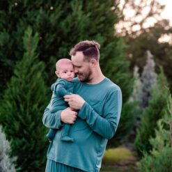 Bamboo Men's Pajamas in Emerald from Kyte