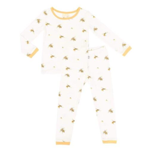 Kyte BABY Long Sleeve Toddler Pajama Set in Buzz