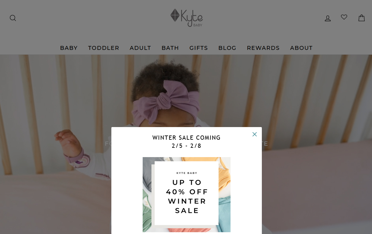 Kyte BABY Winter 2021 Clearance Sale Includes Alpaca, Dino, Peony, Sea Mist and more