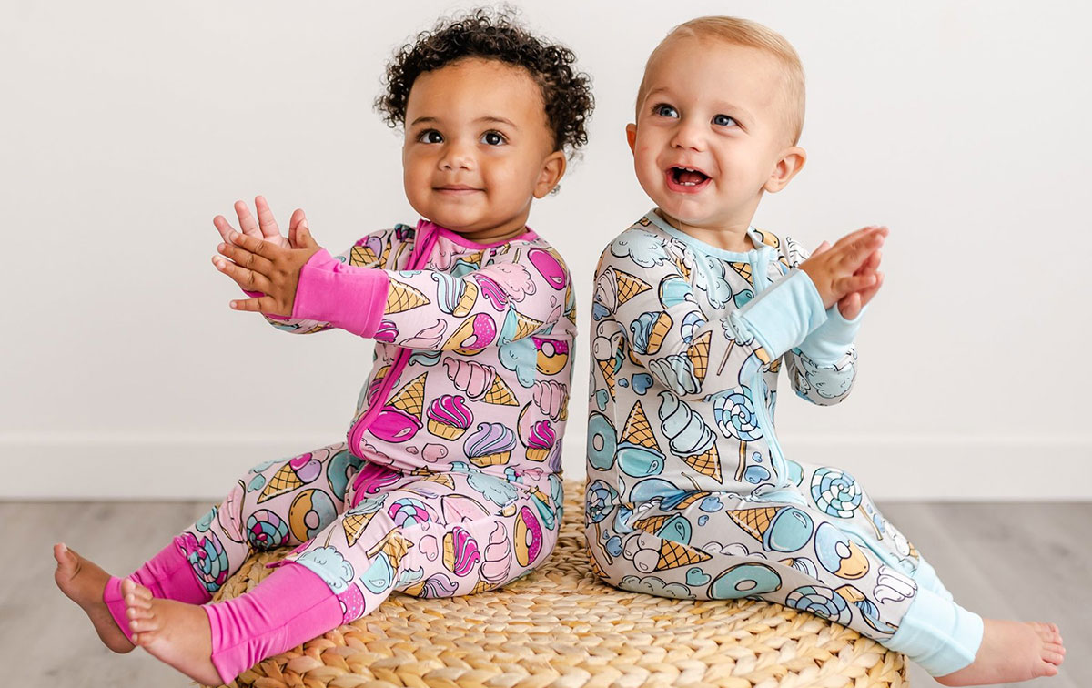 Little Sleepies Bamboo Sleepwear Available at Blossom Baby & Maternity in Minnesota