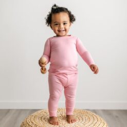 Little Sleepies Bubblegum Bamboo Viscose Pajama Set