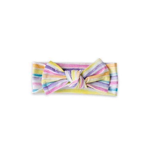 Little Sleepies Sunrise Stripe Bow Headband