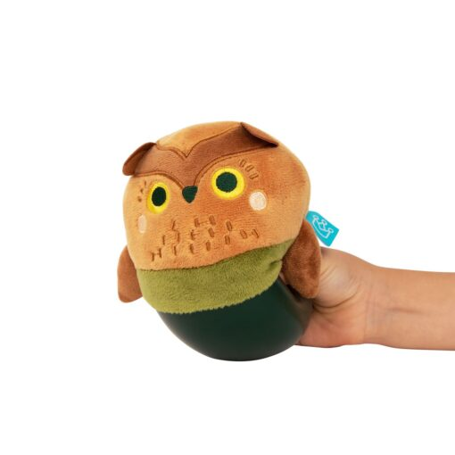 Plush Owl Toy for Babies and Toddlers