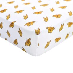 Kyte Baby Crib Sheet in Monarch