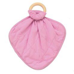 Baby Teether Lovey in Bubblegum by Kyte Baby