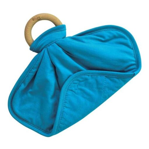 Baby Teether Lovey in Blue Lagoon by Kyte Baby