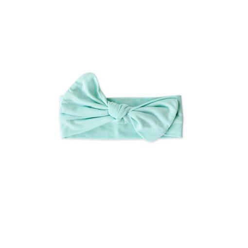 Little Sleepies Aquamarine Bow Headband