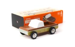Vintage Style Wooden Sierra Longhorn Kids Toy