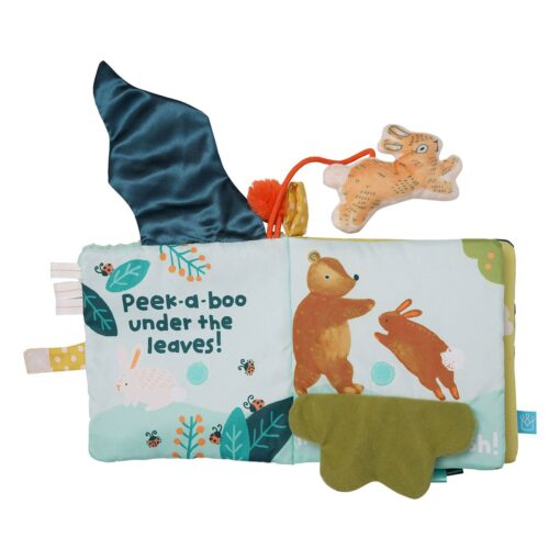 Creative and Interactive Play Safe Soft Book for Babies 0+