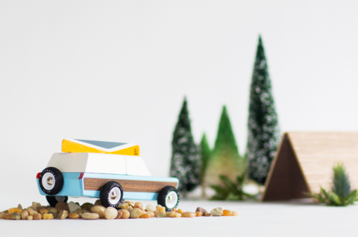 Blue Pioneer Car by Candylab Toys