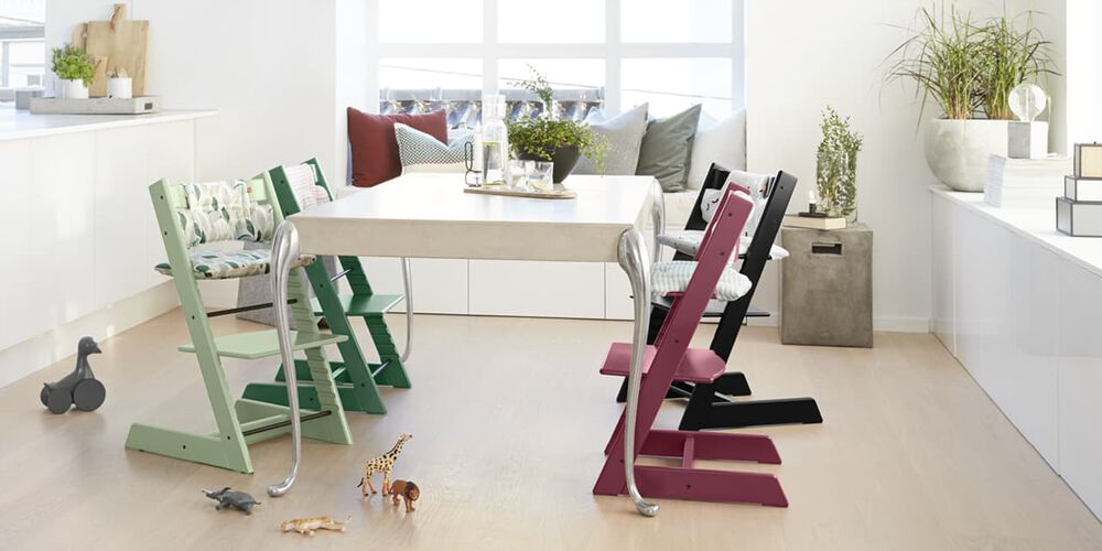 Colorful Tripp Trapp Chairs