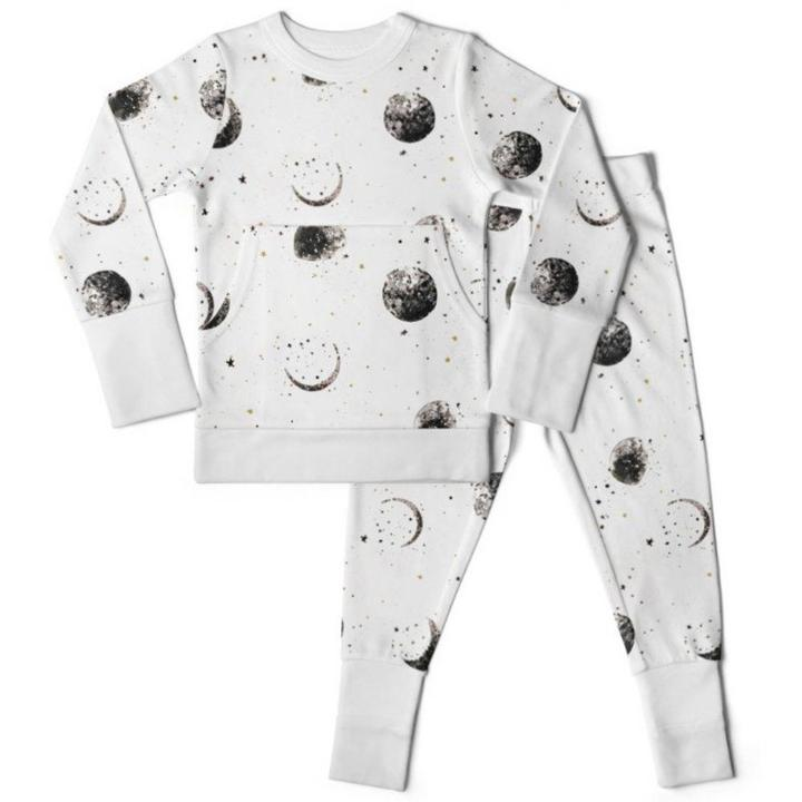 Goumi Kids Loungewear Set Many Moons